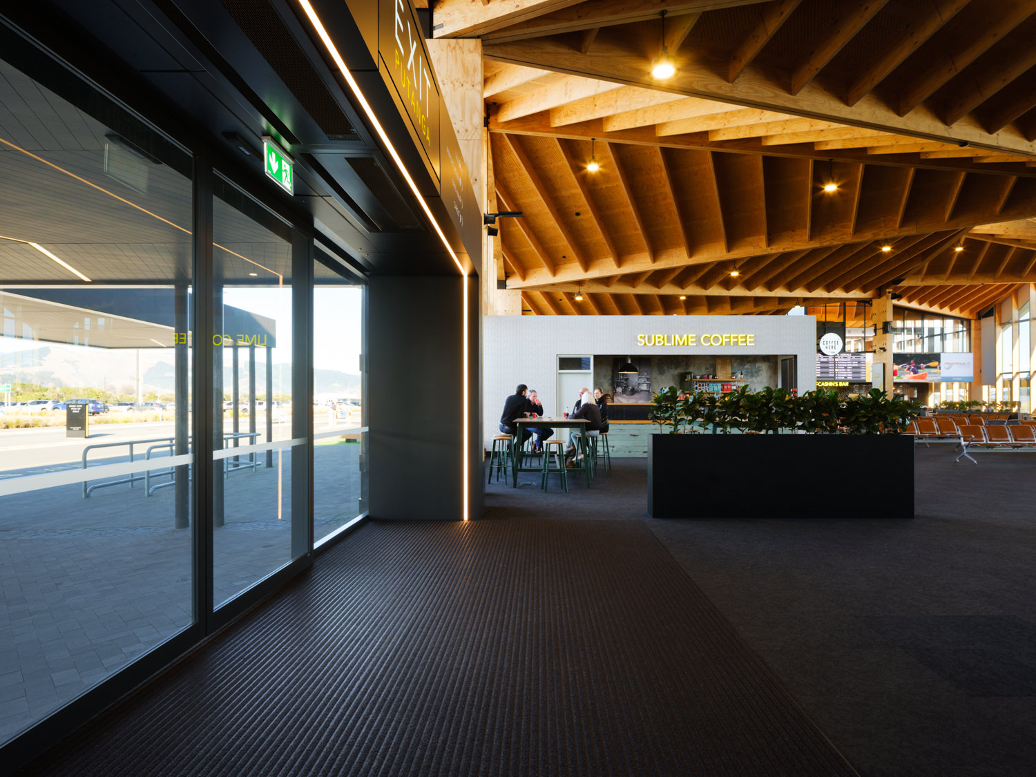 Nelson Airport - Entrance Matting