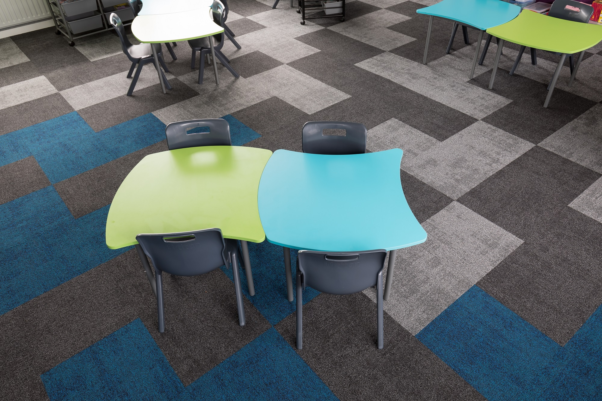 Prospect School NZ Stock Kingston Carpet Tiles