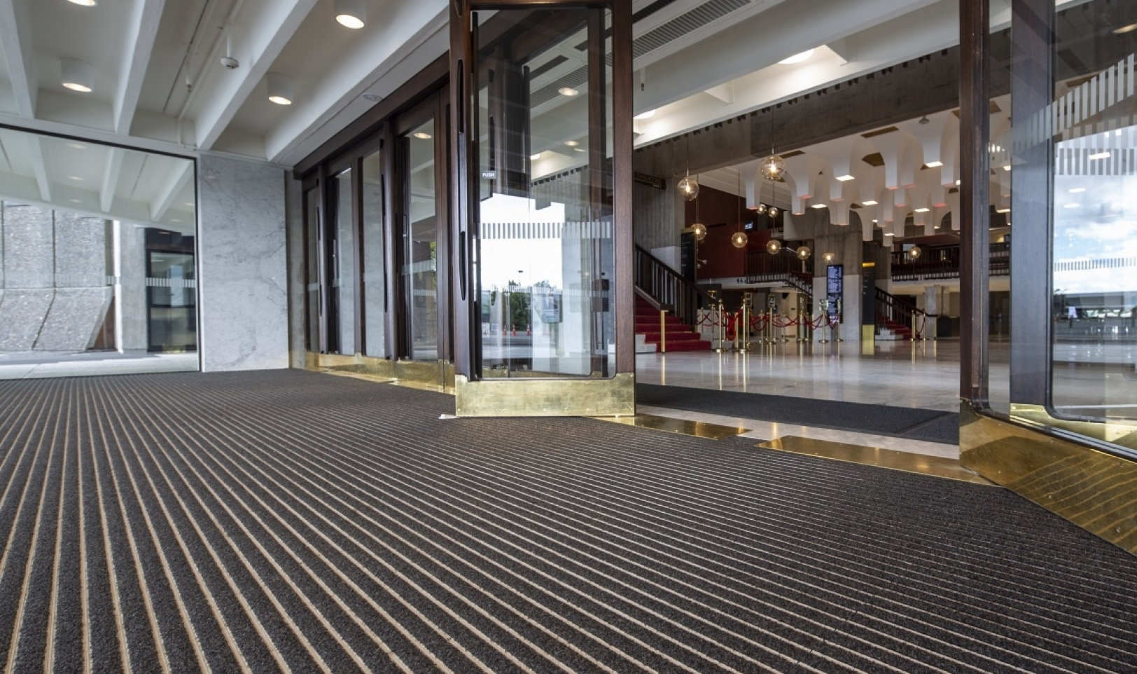 Entrance Matting - CoralTread - Christchurch Town Hall