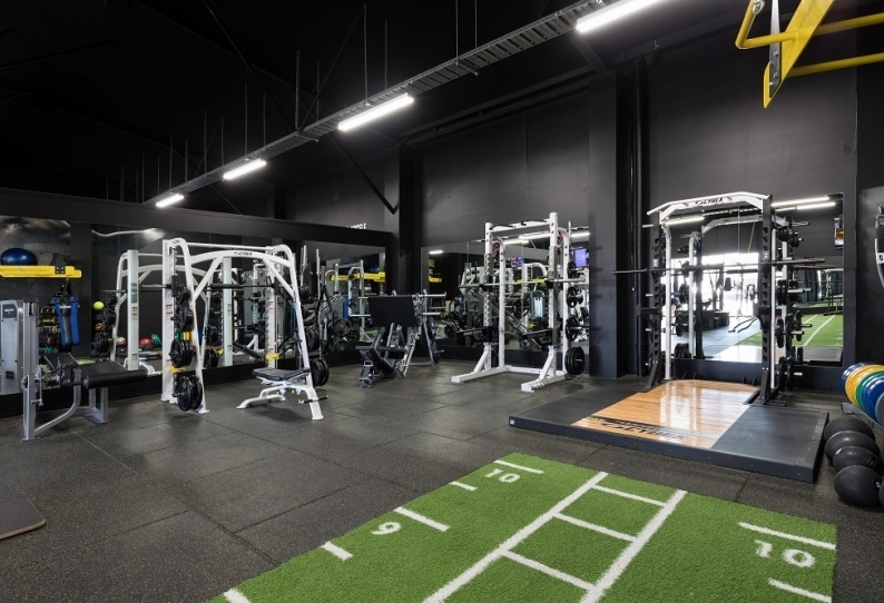 Rubber Flooring - Premium Gym Tiles