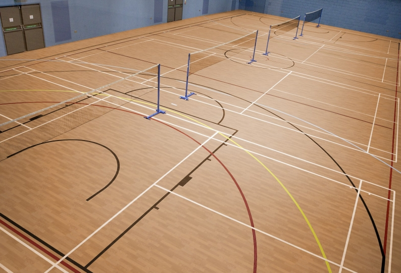 Sports Flooring - Taraflex Multi-Purpose