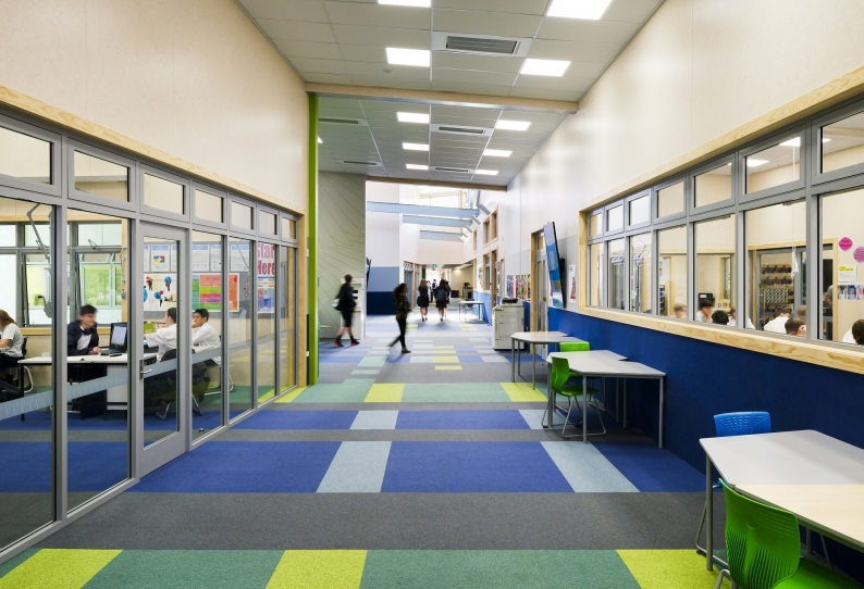 Carpet Tiles - City Square - Aotea College