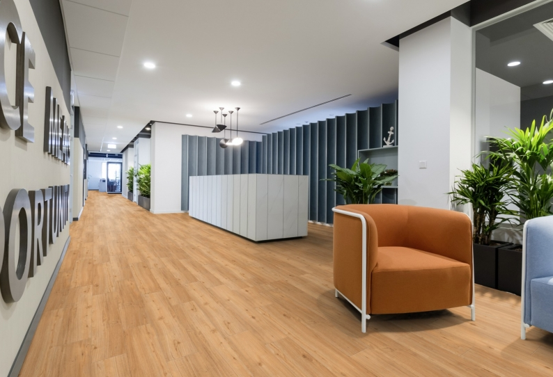 Vinyl Flooring Planks - Virtuo Classic 55XL- Office