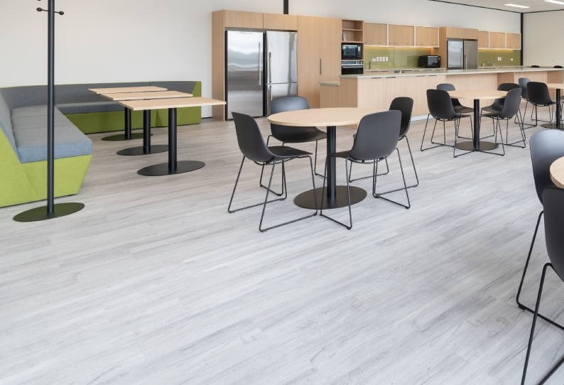 Vinyl Flooring - LVT Planks - MOE Office Whangarei