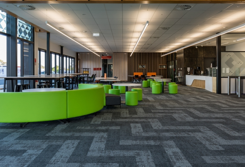 Carpet Tiles Planks Commercial - MIT Techpark - Regeneration