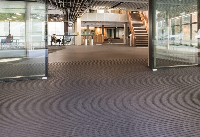 Entrance Matting - CoralTread with Rubber Insert - Auckland University