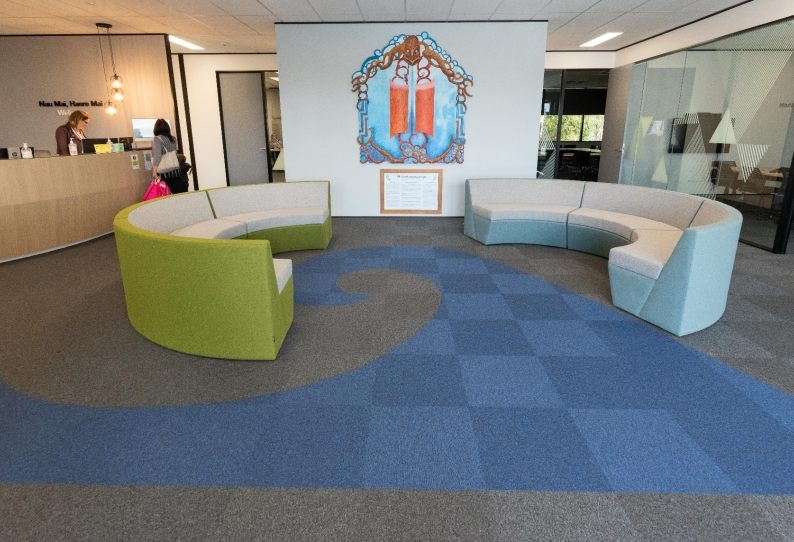Carpet Tiles - City Square - MOE Office
