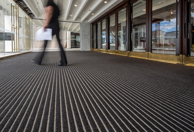 Commercial Architect Entrance Matting - CoralTread - Christchurch Town Hall
