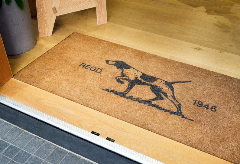 Starlux Coir Custom Design Entrance Mat