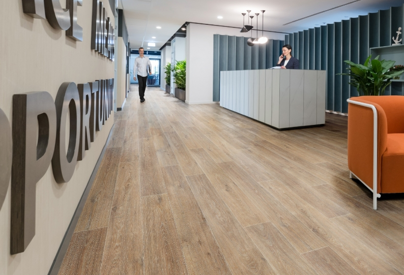 Vinyl Flooring Commercial NZ Stock Woodlook