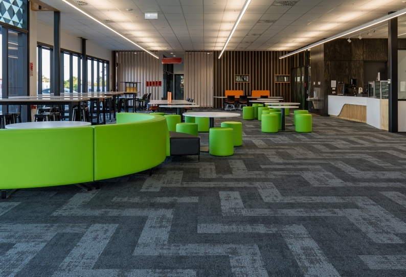 Carpet Tiles/Planks - Regeneration - MIT Techpark