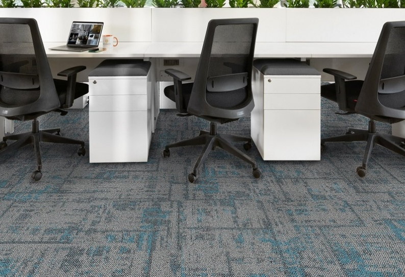 Wetland and Thrive Carpet Tiles Planks