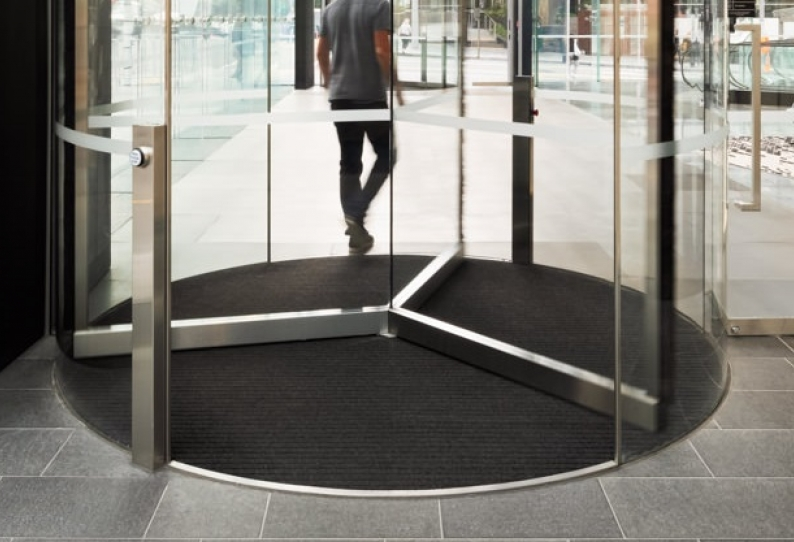Entrance Matting - EverTread PwC Tower Commercial Bay