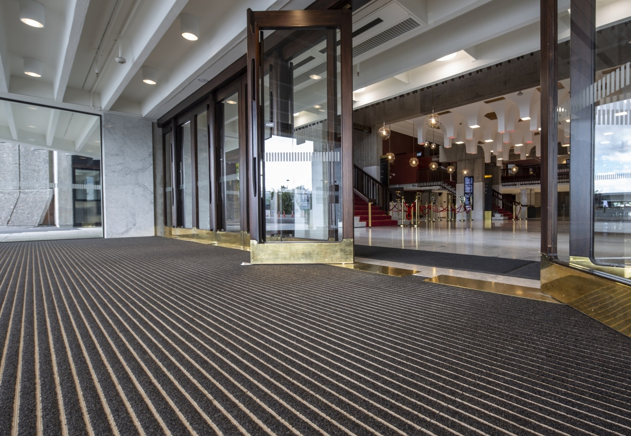 Christchurch Town Hall Rebuild | CoralTread Entrance Mat | Inspiration