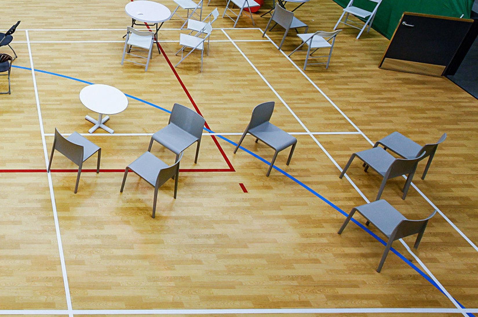 Taraflex Multi-Use Sports Floor for Schools