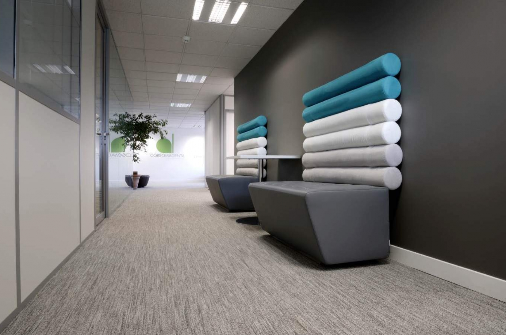 Green System Carpet Tiles