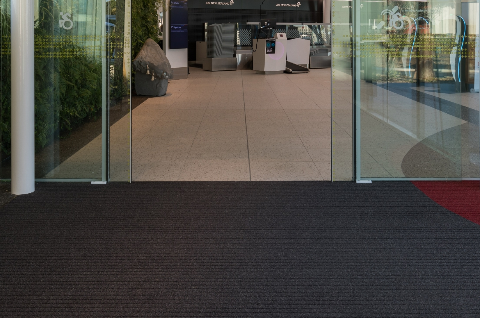 EverTread Entrance Mat - New Plymouth Airport