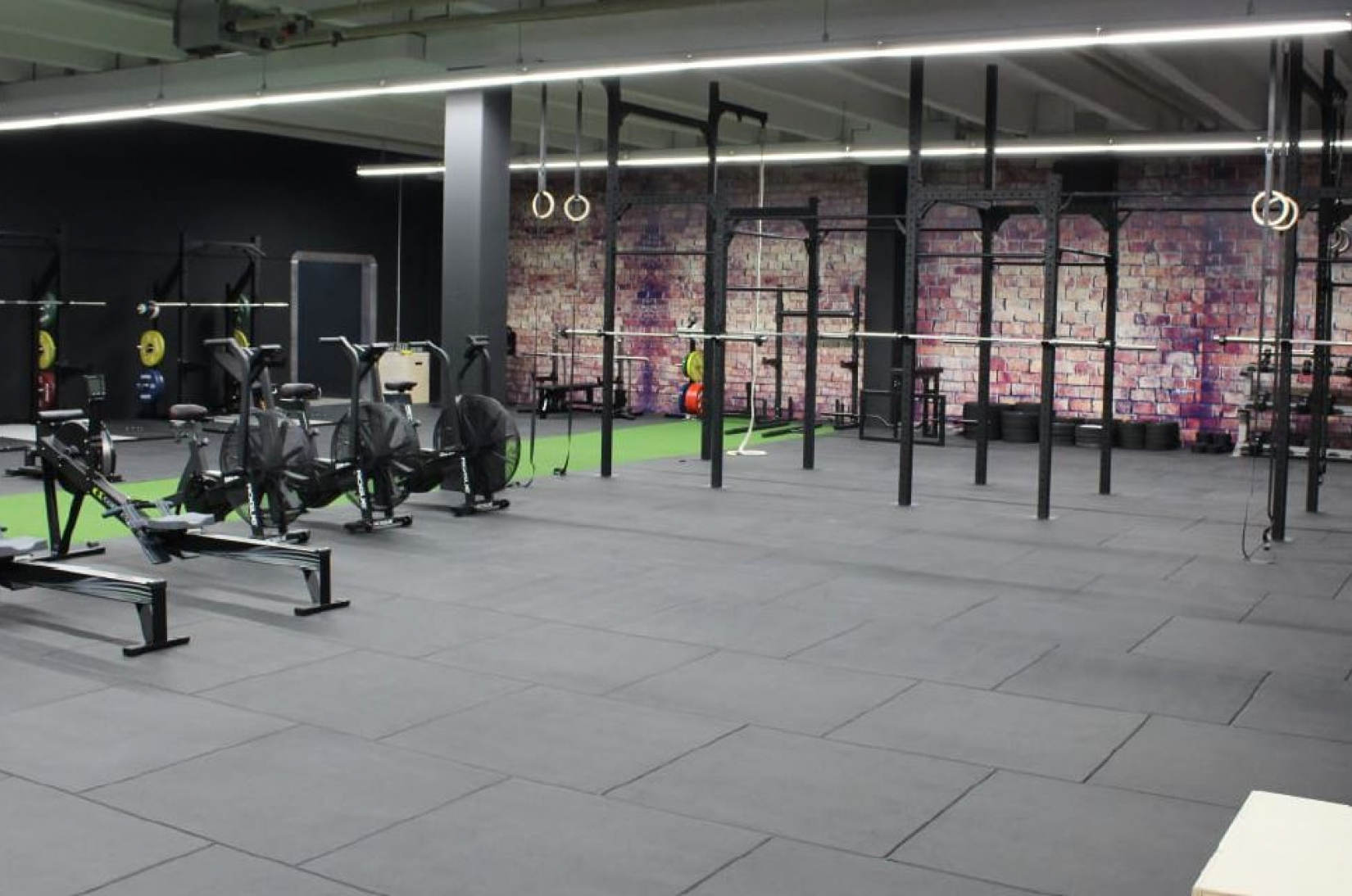 Rubber Flooring - Gym Tiles