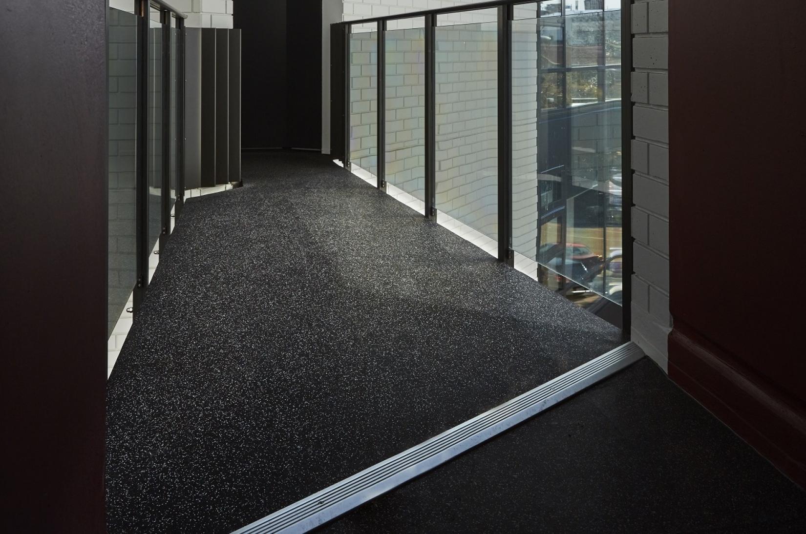 Rubber Flooring - Acoustic Damping Multi Storey