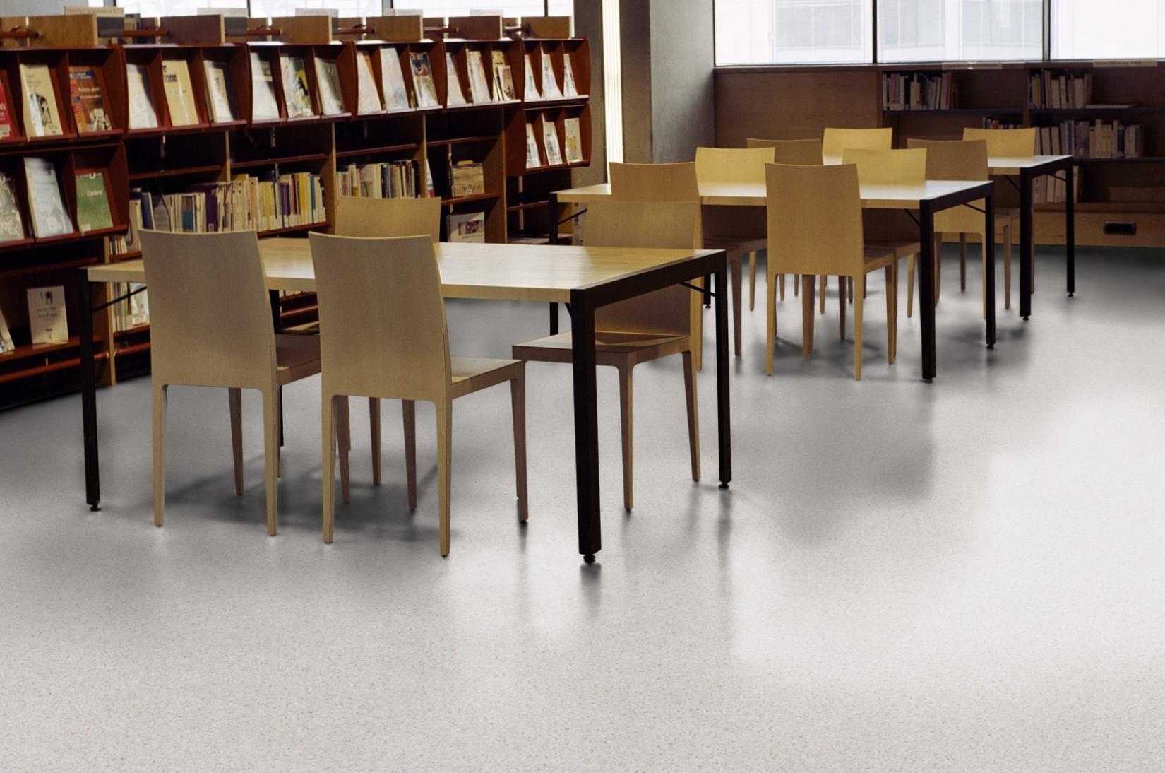 Vinyl Flooring, School, Homogeneous, Stock