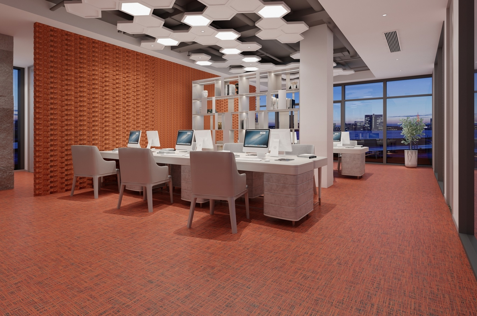 Rubber Flooring - Planks Gym Office