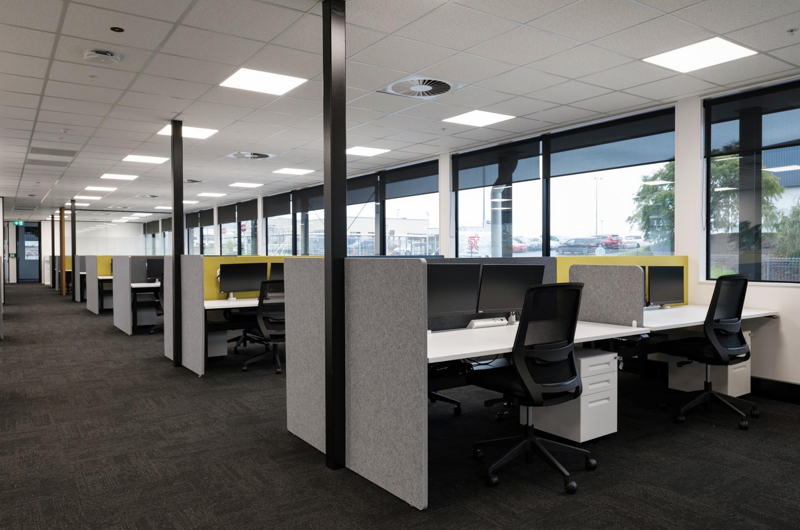 Bluebird Head Office - Carpet Tiles - Mossburn