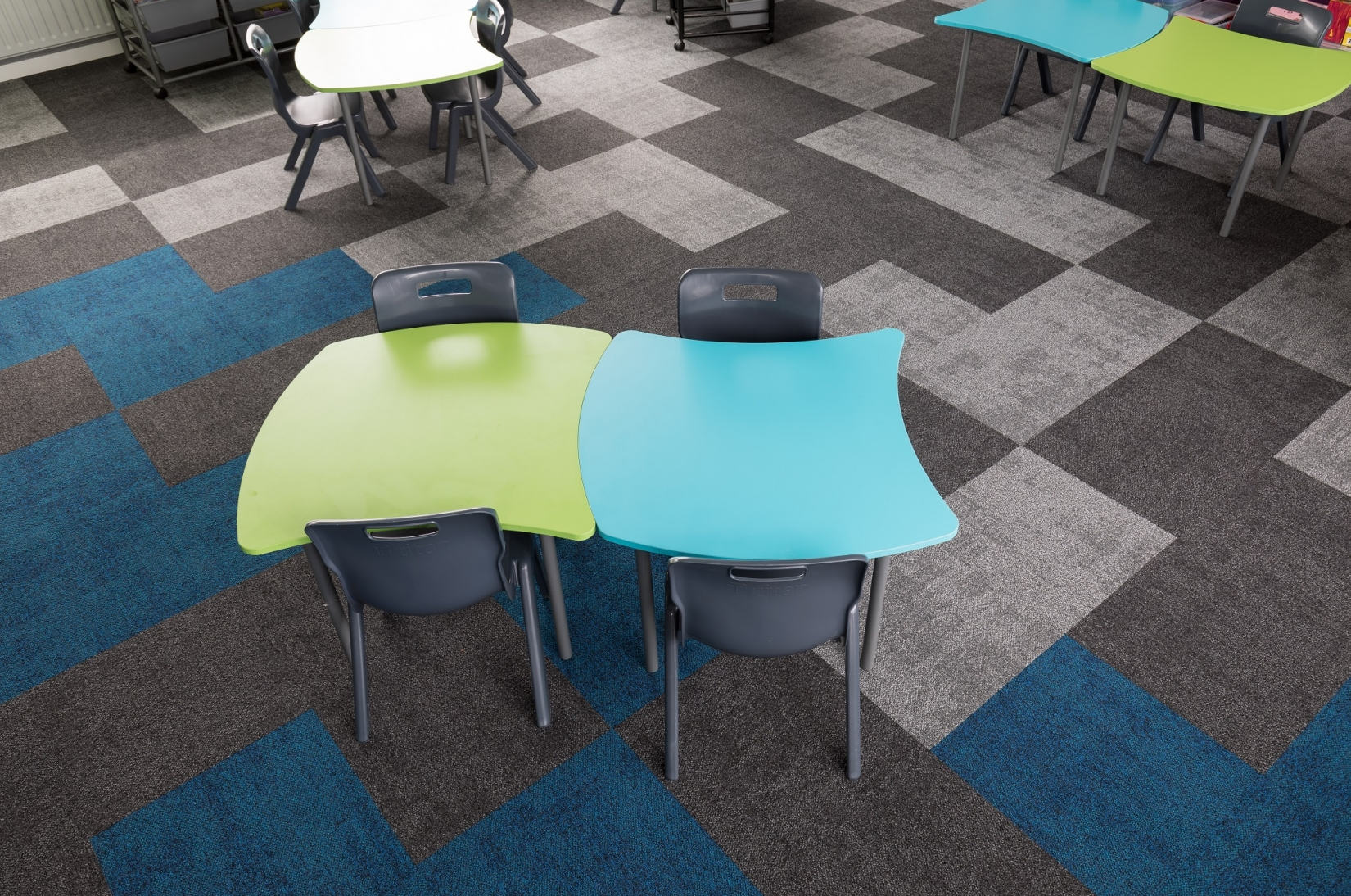 Kingston Education Carpet Tiles