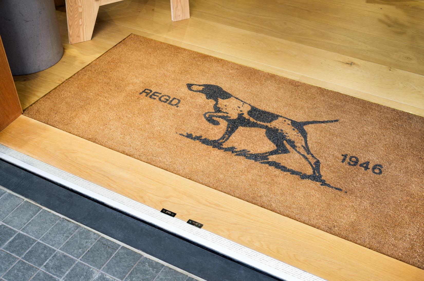 Starlux Coir Custom Design Entrance Mat