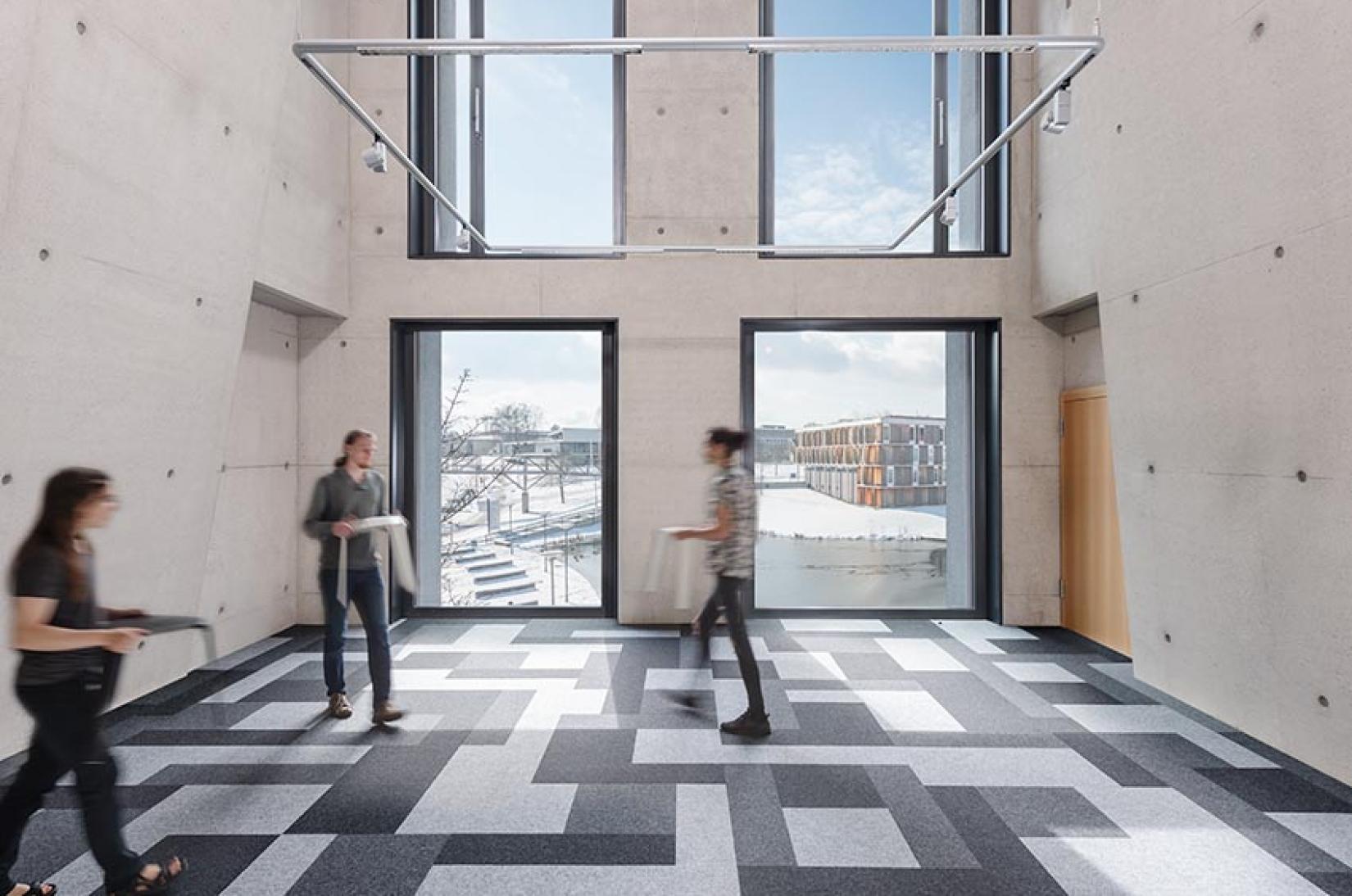 Dimension Entry Tile Mat
