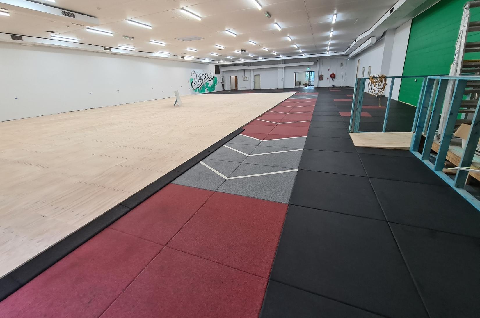 Rubber Flooring Premium Gym Tiles