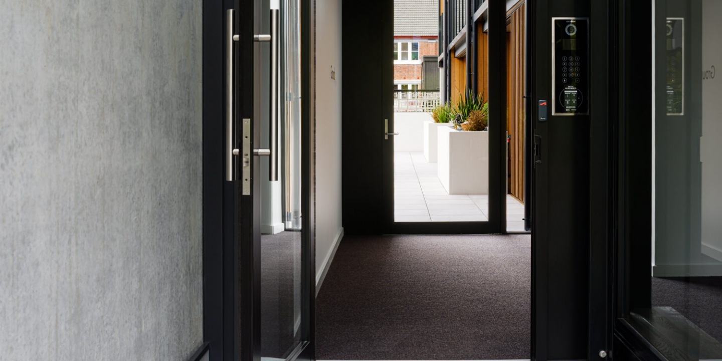 Betts Apartments - Entrance Carpet Mat Case Study