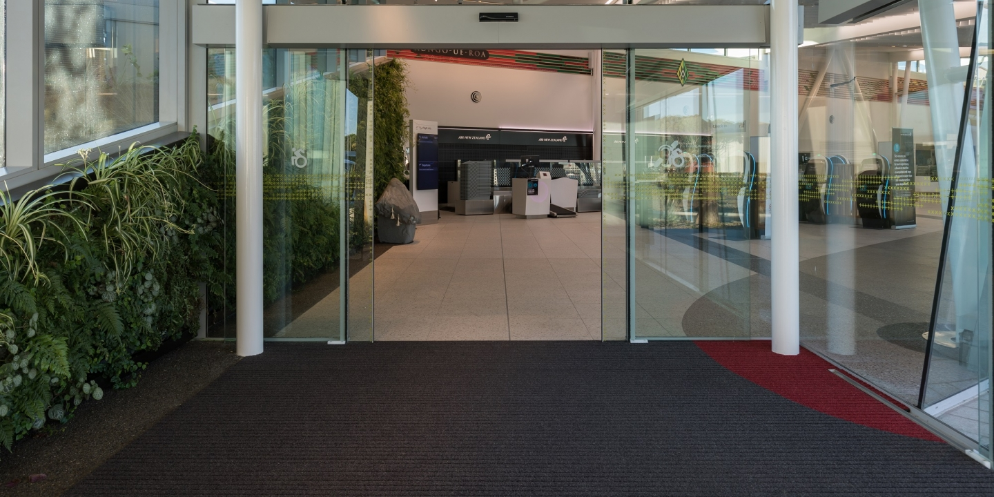 New Plymouth Airport Entrance Mat