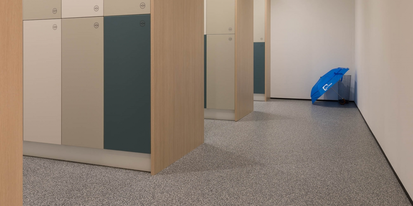 DLA Piper Rubber Flooring Commercial Office Fitout